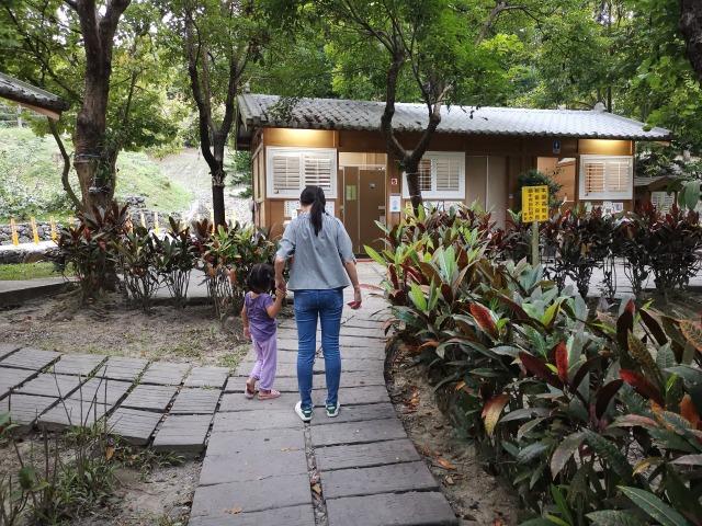 大崗山生態園區公廁