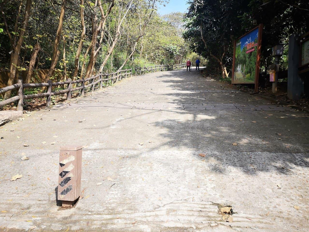 觀音山步道鹽埕巷登山口